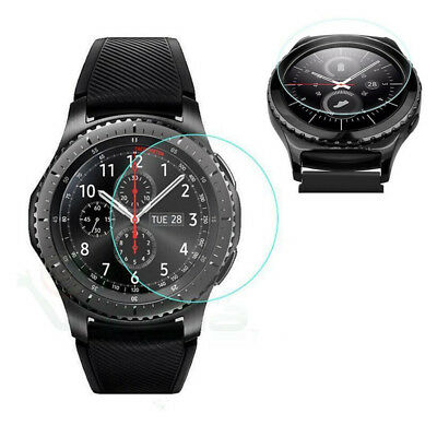 2x Tempered Glass Skin Screen Protector Film For Samsung Galaxy Gear S3 Watch