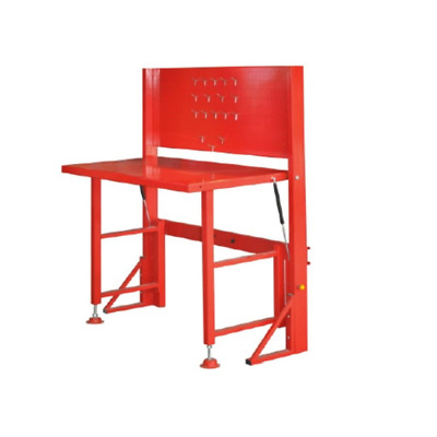 New Fold Up/down Steel Workbench Heavy Duty