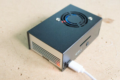 Inland Aluminum Case in Silver Compatible w// Raspberry Pi B+//2//3 /& Asus Tinker
