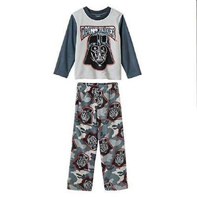 Star Wars Darth Vader Little Boys  2 Piece Fleece Pajama Set Size 4- NWT c53304711