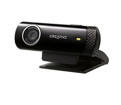 Creative Labs Live! Cam Chat HD Smooth 720p Video Built in Noise cancelling Mic