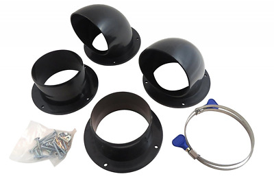 """Taytools 114971 4"""" Dust Collection Cyclone Separator Kit for Trash Cans, Barrels"""