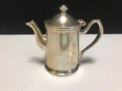 Silver Creamer Milk Server Grand Silver Company Wear Brite Nickel Silver