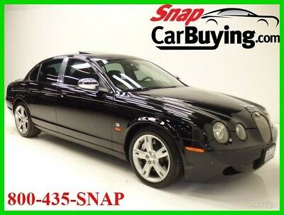 2005 Jaguar S-Type 4.2 R 2005 Jaguar S-Type 4.2 R V8 Automatic RWD*Premium*RARE LOW MILES*BLACK ON BLACK!
