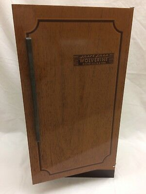 Vintage 1950's or 60's Wolverine Frost Free Refrigerator Lithographed Tin Toy