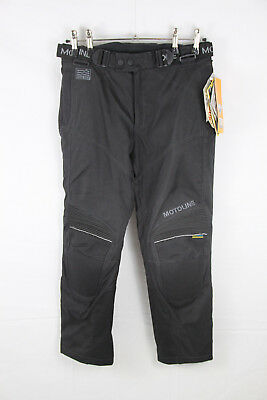 MOTOLINE HARRISON Motorradhose Textilhose Gr.25 NEW waterproof motorcycle pants