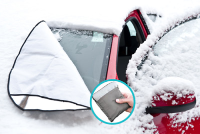 Magnetic Car Windscreen Cover Anti Ice Frost Shield Snow Protector Sun Shade
