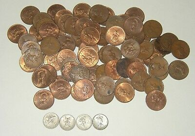 Lot of 1944 S Philippines  WWII Era USA Territory Coins