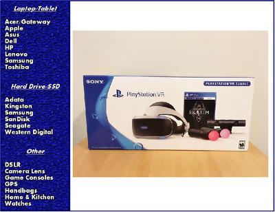 PlayStation VR - Skyrim Bundle, Skyrim VR, CUH-ZVR2, New, Sealed