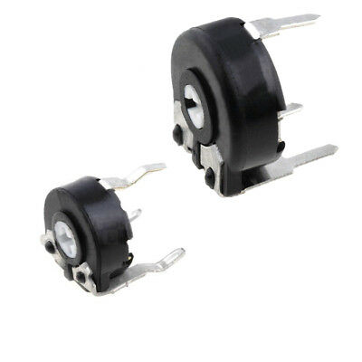 PT6LV, PT10LV Carbon Potentiometer, Variable Resistor,PIHER, Pack of: 2, 5 or 10
