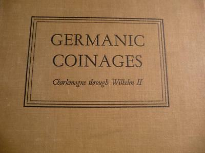 Germanic Coinage, Charlemagne Through Wilbelm II, By Craig 1954 SKU#11758