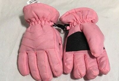 Snow Gloves Baby Toddler Pink Thinsulate