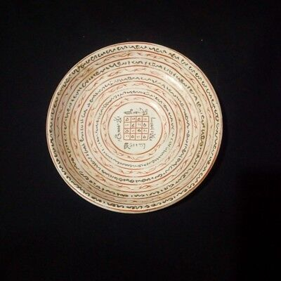 Magic square Qing Danisty Islamic porcelain saucer Plate of 19th Century