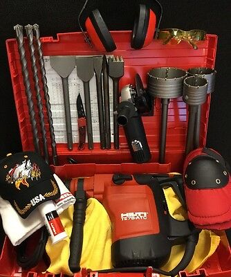 Hilti Te 76-Atc Brand New, 230V, Free Angle Grinder, Bits And Chisels, Fast Ship
