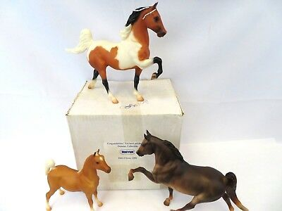 1995 Breyer Lot Of 2 Horses & A Pony - Vintage In The Box - Rare