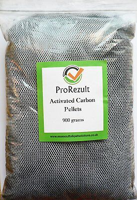 Activated Carbon Pellets Aquarium or Pond in Zip Bag Internal External Filters