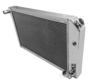 American Eagle Aluminum Radiator Ae1919 For Jeep Cj5 2 Row 1In Tubes