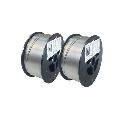 """2 Rolls - Stainless Mig welding wire 316L .030"""" X 2 lb"""