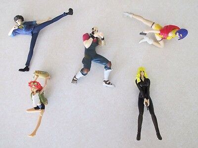 Sunrise Cowboy Bebop Story Image Loose Action Figures Lot of 5 - Rare!