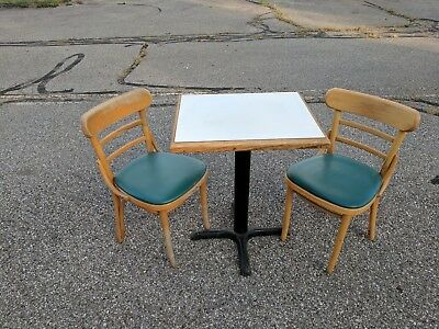 Cafe tables and chairs $7ea / Coffee House Tables & Chairs $7 per table or chair