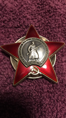 "Russian ""Order of Red Star"" Award"