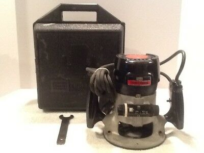 Sears Craftsman Commercial Router Model 315.17480 Vintage 25K rpms 6.5 Amps NICE