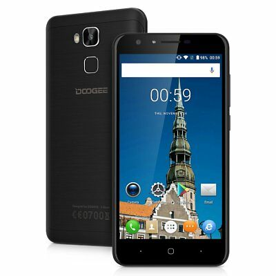 5,5'' DOOGEE 4G LTE Smartphone Android Quad Core Dual SIM 2GB + 16GB 13MP Handy