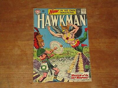 Hawkman #1 Key Dc Silver Age Higher Grade Anderson Art Jla Movie Soon!!