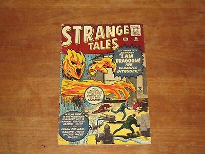 Strange Tales #76 Marvel Silver Age Horror Human Torch Prototype Issue Kirby