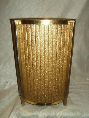 mid century modern bathroom waste paper trash can vintage 1950s vtg old antique