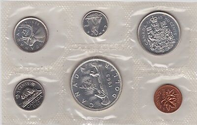 Canada 1965 Proof Like Coin Year Set 1.1 OZ Pure Silver