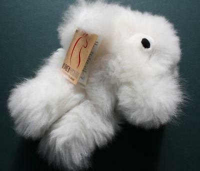Snow White Alpaca Fashion Polar Bear-Adorable-Peruivan Andes-Must Have and Hold!