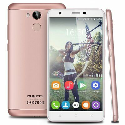 "4G Android6.0 OUKITEL Handy 16MP Octa Core Smartphone 32GB + 3GB 5,5"" 3000mAh TE"