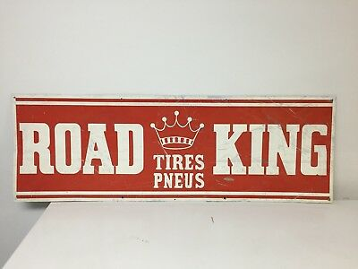 Road King Tires Sign