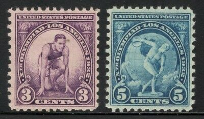85 Year Old Set 718-719 Olympic Games Mint/nh Free shipping (A-49)