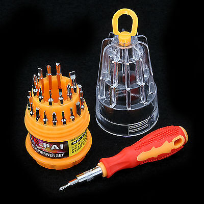 31 in1 Screwdriver Set-Magnetic Precision Hardware Torx Screw Driver Tool Kit