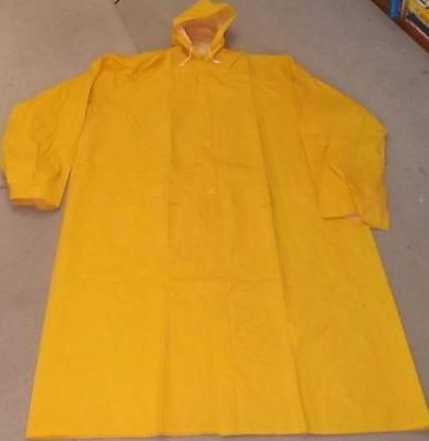 Brand New Pryme Health & Safety 3/4 Unisex Hooded PVC Raincoat 3 colours Med 5XL
