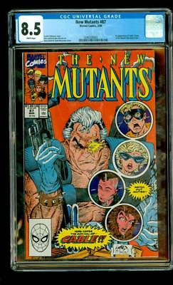 New Mutants # 87 CGC 1st Appearance of Cable and Stryfe LIEFELD MCFARLANE MARVEL
