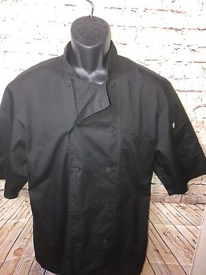 Chef Works Cool Vent Cook Shirt Size Medium Mens (a6)