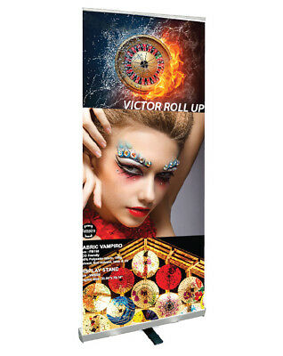 """33.5""""x79.5"""" Economy Retractable Banner Stand /Free Printing, Trade Show, R100"""