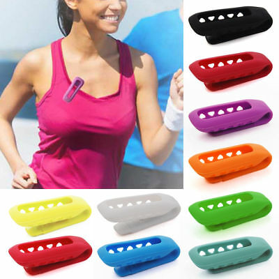 Durable Silicone Belt Clip Holder Case Cover For Fitbit Flex Activity Tracker