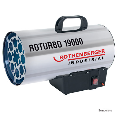Rothenberger Industrial Gasheizkanone Roturbo 19000 Heizgerät - Neue Version!