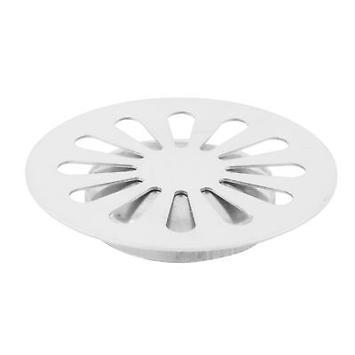 Laundry Stainless Steel Round Floor Drain Cover Lid Strainer 4.8cm Mounting Dia