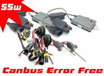 Fits Citroen C5 2008+ FOG - H1 55w XENON HID GAS DISCHARGE CONVERSION KIT CANBUS