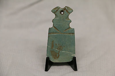 Pre-Columbian Nicoya Jade Axe God Pendant Costa Rica Guanacaste Ancient Artifact