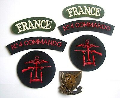 WWII - COMMANDO KIEFFER (Set de 7 - Reproductions)