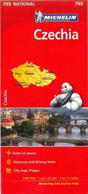 Czech Republic National Map 755 by Michelin (Sheet map, folded, Road Map)