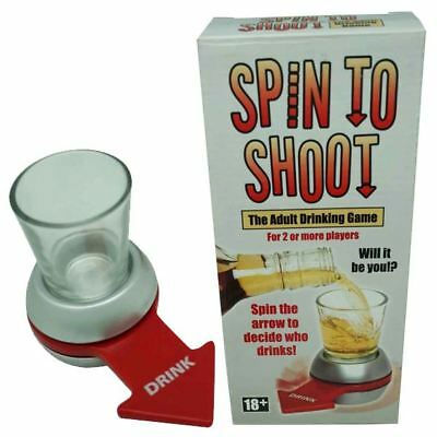 Diabolical Gifts Spin to Shoot Drinking Game - DP0974