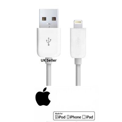 Genuine 1 Meter, 2M lightening 5G charger usb lead cable for iPhone 6,8,7,X iPad