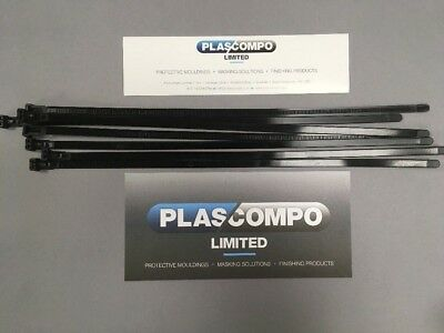 Cable Ties 100mm / 160mm / 200mm / 300mm 370mm / 430mm  Tie Wraps Zip Ties